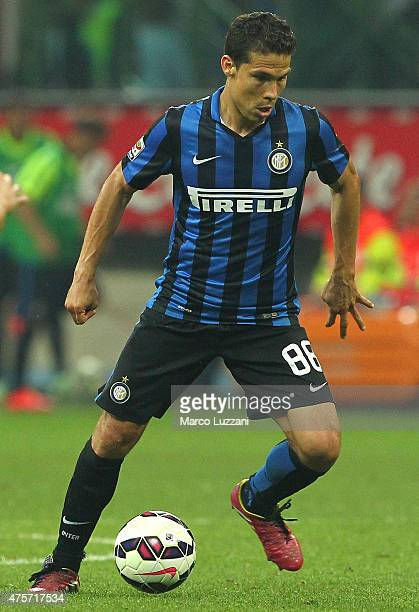 Anderson Hernanes of FC Internazionale Milano in action during the Serie A match between FC Internazionale Milano and Empoli FC at Stadio Giuseppe...