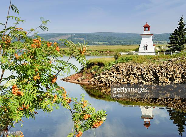Anderson Hollow lighthouse in New Brunswick,Canada.