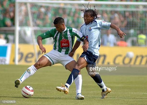 Anderson of FC Porto in action as FC Port won the Portuguese Soccer Cup with a victory against Victoria de Setúbal for 10 in the National Stadium...