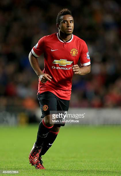 Anderson of Manchester United at Stadium mk on August 26 2014 in Milton Keynes England