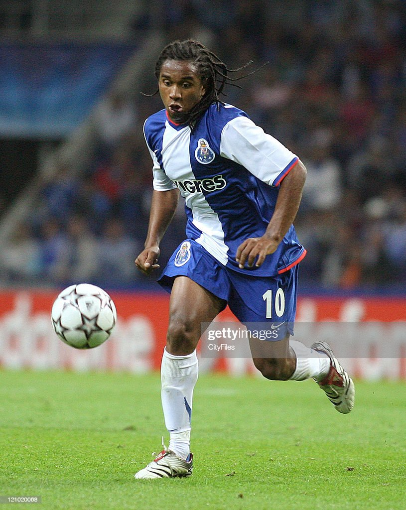 Anderson of Porto during a UEFA Champions League match between Porto and CSKA Moscow in Porto, Portugal on September 13, 2006.
