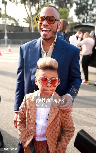 Anderson Paak and Soul Rasheed attend the 62nd Annual GRAMMY Awards at STAPLES Center on January 26 2020 in Los Angeles California