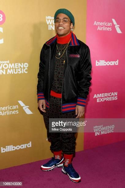 Anderson Paak attends Billboard Women In Music 2018 on December 6 2018 in New York City