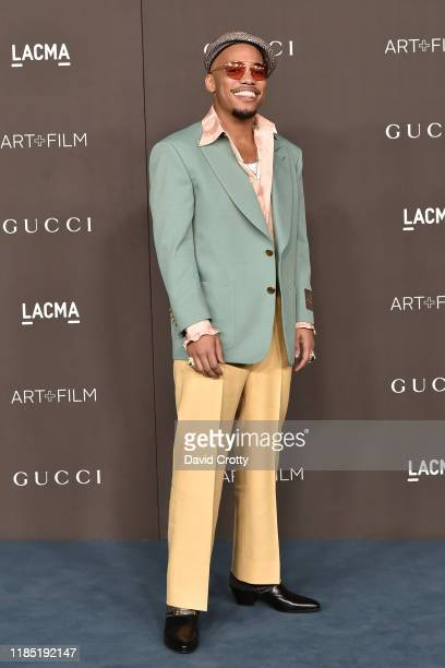 Anderson Paak attends the 2019 LACMA Art Film Gala at LACMA on November 02 2019 in Los Angeles California