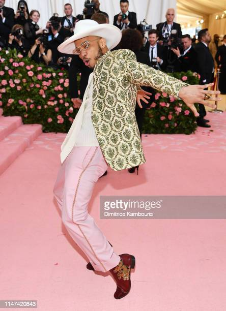 Anderson Paak attends The 2019 Met Gala Celebrating Camp Notes on Fashion at Metropolitan Museum of Art on May 06 2019 in New York City