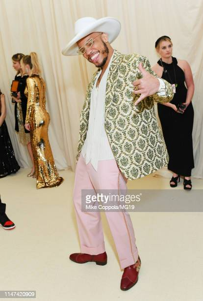 Anderson Paak attends The 2019 Met Gala Celebrating Camp: Notes on Fashion at Metropolitan Museum of Art on May 06, 2019 in New York City.