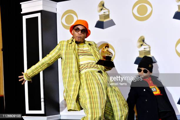 Anderson Paak attends the 61st Annual GRAMMY Awards Press Room at Staples Center on February 10 2019 in Los Angeles California