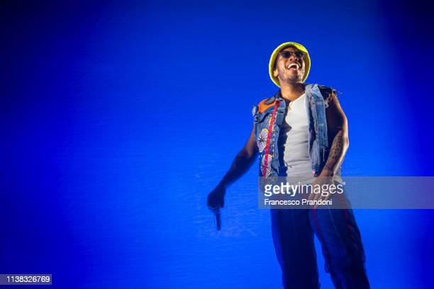 Anderson Paak of Anderson Paak The Free Nationals performs at Fabrique Club on March 25 2019 in Milan Italy
