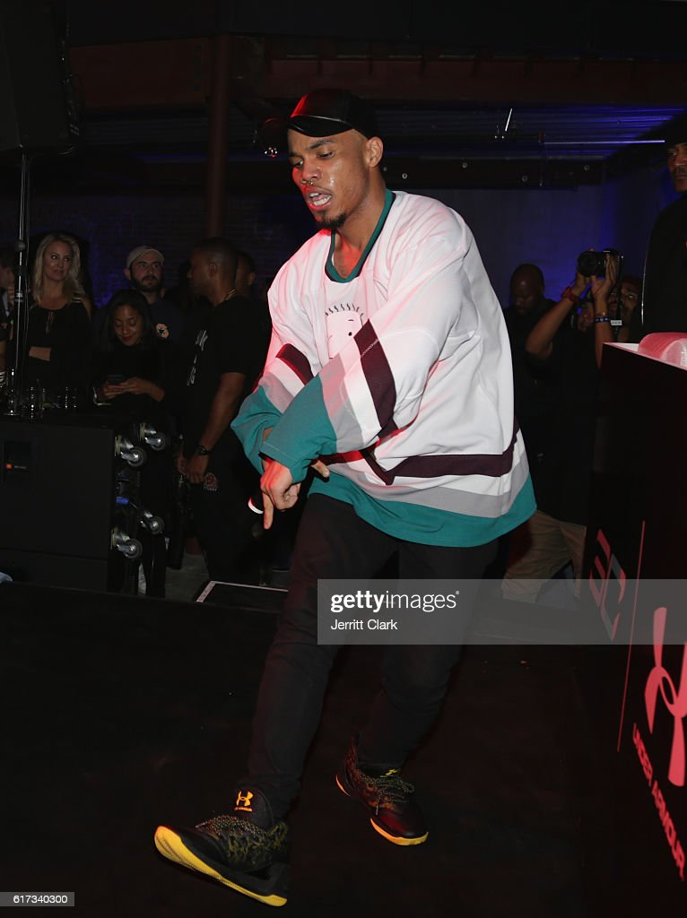 Anderson Paak performs during the Under Armour Curry 3 Launch at Skylight Powerhouse on October 22, 2016 in the Bay Area, California.
