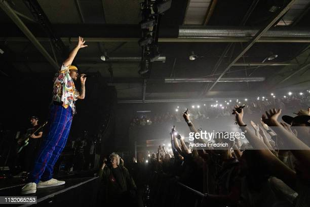 Anderson Paak performs onstage at Columbiahalle on March 22 2019 in Berlin Germany
