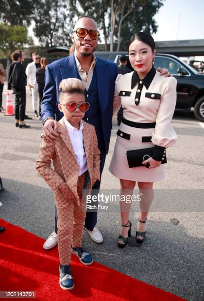 Anderson Paak Soul Rasheed and Jae Lin attend the 62nd Annual GRAMMY Awards at STAPLES Center on January 26 2020 in Los Angeles California