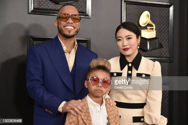 Anderson Paak Soul Rasheed and Jae Lin attend the 62nd Annual Grammy Awards at Staples Center on January 26 2020 in Los Angeles CA