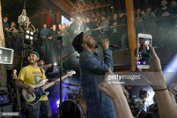 Anderson .Paak & The Free Nationals perform at Soho Sounds: LA hosted by Soho House with Samsung, BMW of Beverly Hills & Bacardi on February 11, 2017...