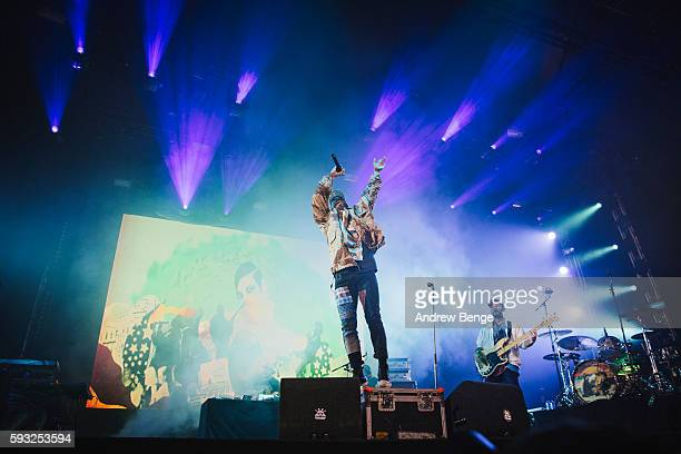 Anderson Paak The Free Nationals perform on the Bravo Stage during day 3 of Lowlands Festival 2016 on August 21 2016 in Biddinghuizen Netherlands