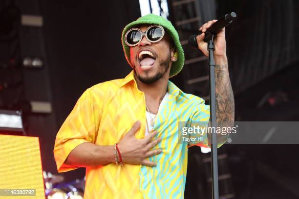 Anderson Paak The Free Nationals perform onstage during Day 2 of 2019 Boston Calling Music Festival on May 25 2019 in Boston Massachusetts