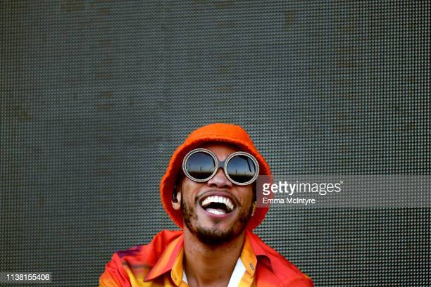 Anderson Paak The Free Nationals performs at Coachella Stage during the 2019 Coachella Valley Music And Arts Festival on April 19 2019 in Indio...