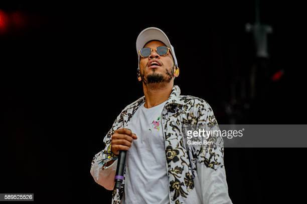 Anderson Paak The Free Nationals performs live at Flow Festival on August 14 2016 in Helsinki Finland