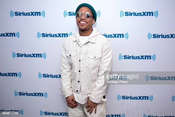 Anderson Paak visits SiriusXM Studios on May 18 2018 in New York City