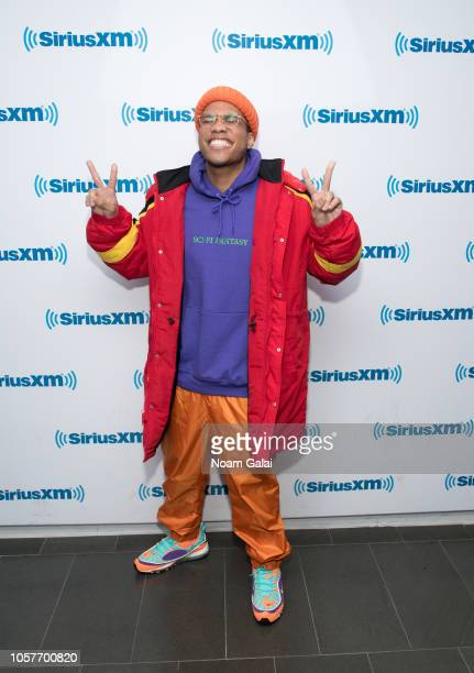 Anderson Paak visits the SiriusXM Studios on November 5 2018 in New York City
