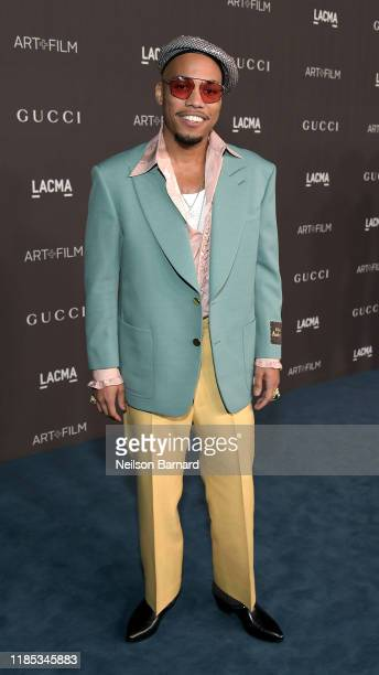 Anderson Paak wearing Gucci attends the 2019 LACMA Art Film Gala Presented By Gucci at LACMA on November 02 2019 in Los Angeles California