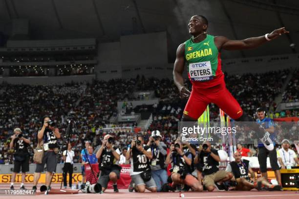 Anderson Peters of Grenada competes in the Men's Javelin final during day ten of 17th IAAF World Athletics Championships Doha 2019 at Khalifa...