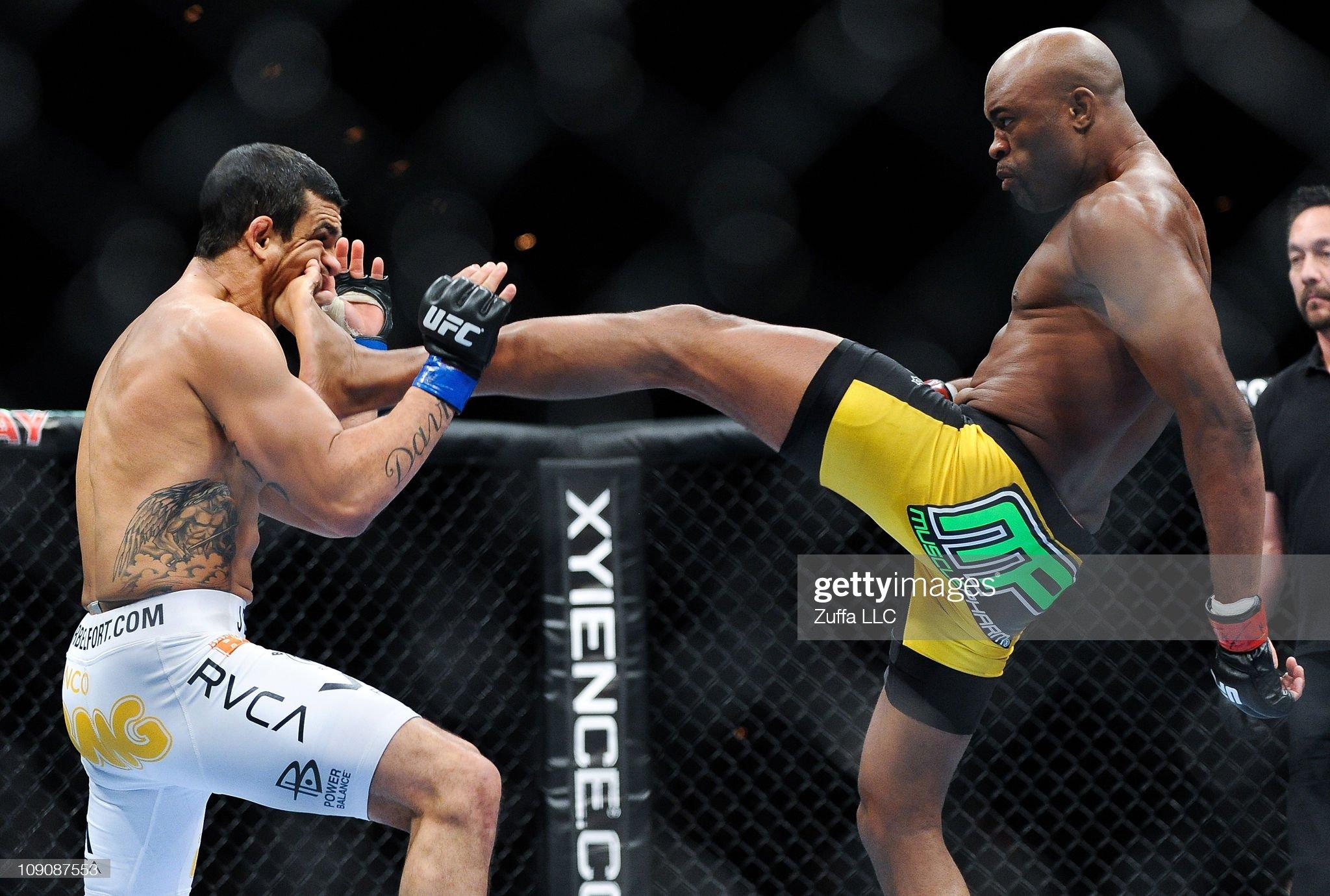 UFC 126: Silva vs. Belfort : News Photo
