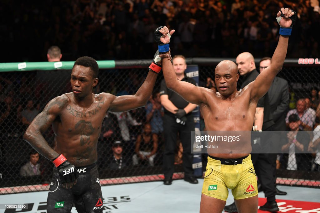 UFC 234: Adesanya v Silva : News Photo