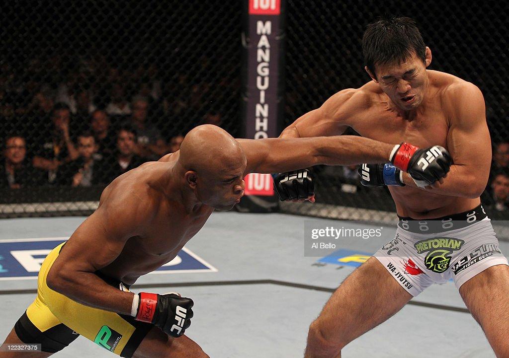 UFC 134: Silva v Okami : News Photo