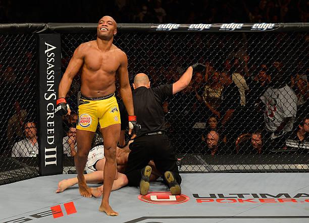 UFC 148: Silva V Sonnen II Wall Art