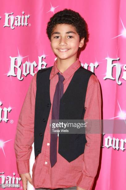 Anderson Slayton attends Rock Your Hair presents Valentine's Rocks at The Avalon Hotel on February 11 2017 in Los Angeles California
