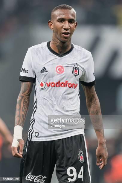 Anderson Souza Conceicao of Besiktas JK during the Turkish Spor Toto Super Lig football match between Besiktas JK and Teleset Mobilya Akhisarspor on...