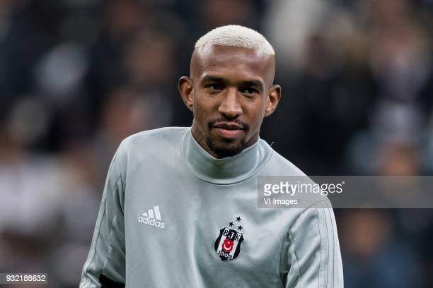 Anderson Souza Conceicao of Besiktas JK during the UEFA Champions League round of 16 match between Besiktas AS and Bayern Munchen at the Vodafone...
