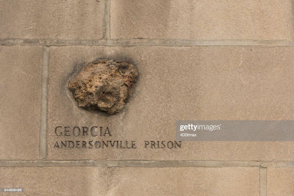 Andersonville Prison : Stock Photo