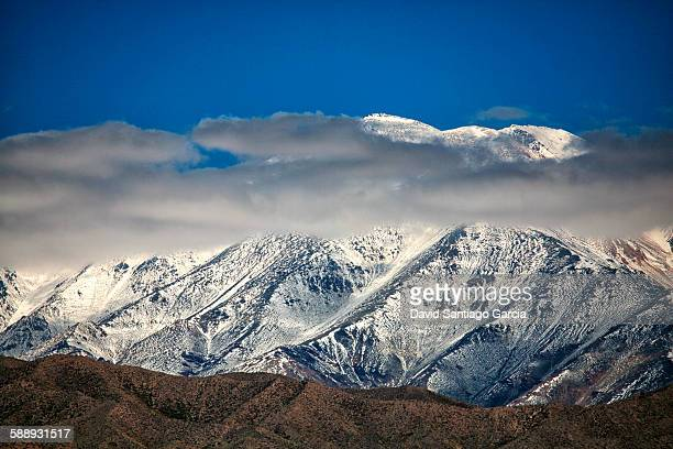 Andes in the province of Mendoza. Argentina