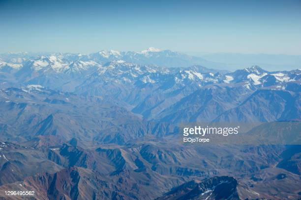 andes mountains, chile - south america stock pictures, royalty-free photos & images
