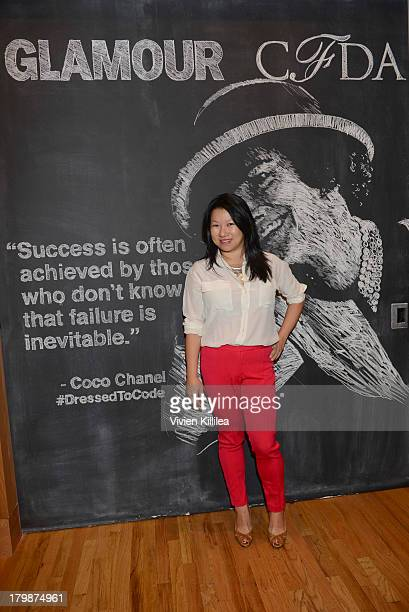 AndFounder of Zola Shan-Lyn Ma attends Glamour And CFDA Host Dressed To Code: A Fashion Hackathon on September 7, 2013 in New York City.