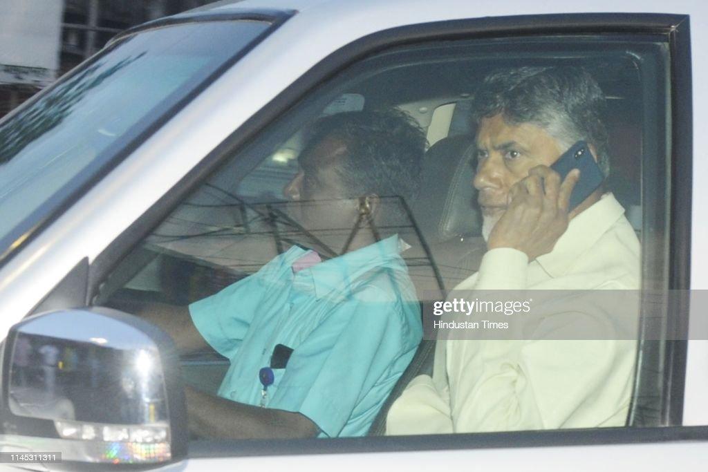 IND: Andhra Pradesh Chief Minister Chandrababu Naidu Meets West Bengal Chief Minister Mamata Banerjee