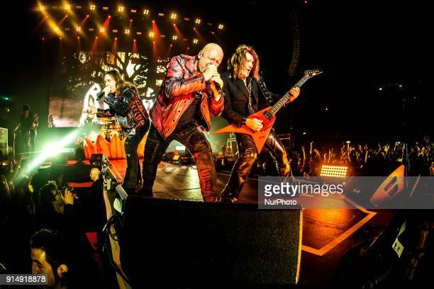 Andi Deris Michael Kiske Kai Hansen German power metal band Helloween live in Milano for the quotPumpkins Unitedquot tour with new and old members of...