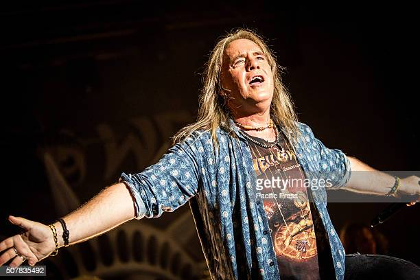 Andi Deris of Helloween performs live at Alcatraz Helloween is a German power metal band founded in 1984 in Hamburg Northern Germany The band is a...