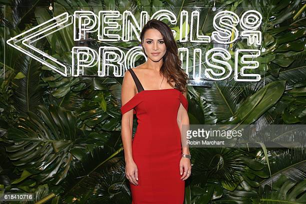 Andi Dorfman attends the Pencils of Promise 6th Annual Gala A World Imagined at Cipriani Wall Street on October 26 2016 in New York City