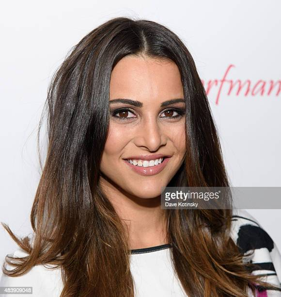 Andi Dorfman attends the Resident Magazine Celebrates August 2015 Cover Featuring Andi Dorfman at Omar's on August 13 2015 in New York City