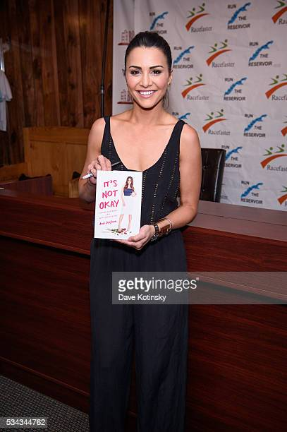 Andi Dorfman Signs Copies Of Her New Book It's Not Okay Turning Heartbreak Into Happily Ever After at Bookends Bookstore on May 25 2016 in Ridgewood...