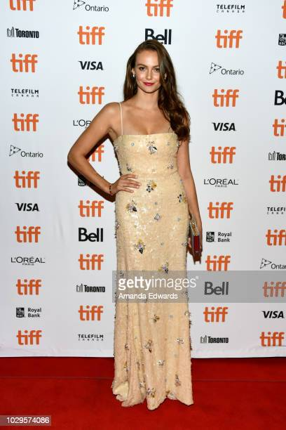 Andi Matichak attends the Halloween premiere during 2018 Toronto International Film Festival at The Elgin on September 8 2018 in Toronto Canada