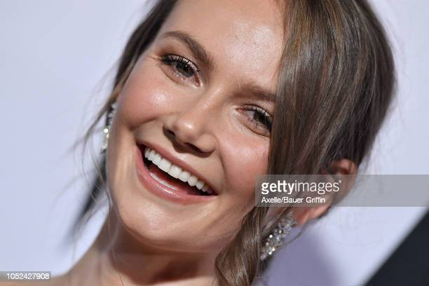 Andi Matichak attends the Universal Pictures' 'Halloween' premiere at TCL Chinese Theatre on October 17, 2018 in Hollywood, California.