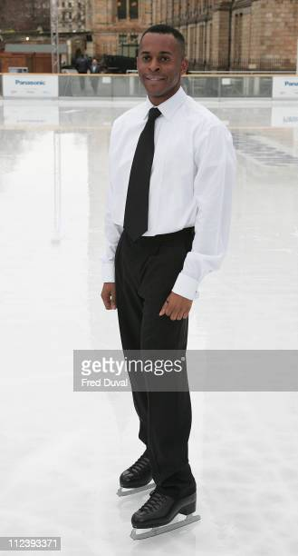 Andi Peters during Dancing on Ice TV Press Launch at Natural History Museum in London Great Britain