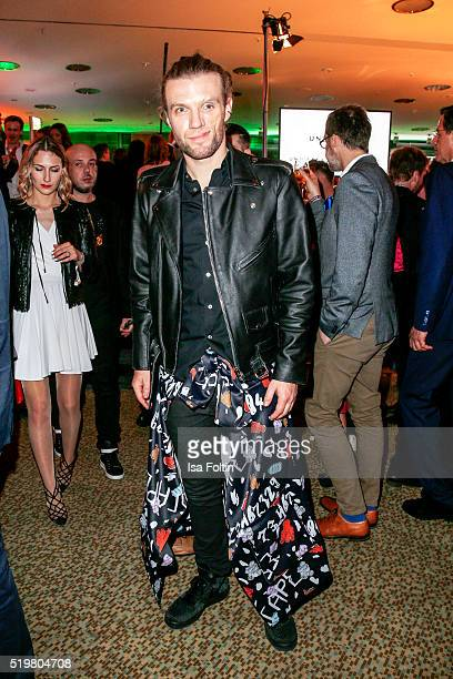 Andi Weizel from Frida Gold attends the Echo Award 2016 after show party on April 07 2016 in Berlin Germany