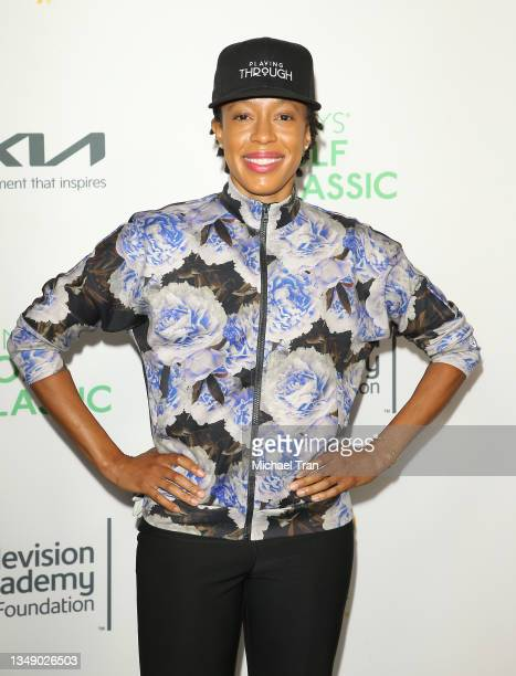 Andia Winslow attends the 21st Annual Emmys Golf Classic Tournament to benefit the Television Academy Foundation's Education Programs held at Riviera...