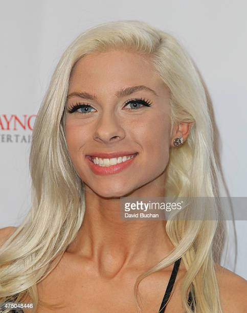 Andie Case attends the TMA 2015 Heller Awards at the Hyatt Regency Century Plaza on May 28 2015 in Century City California