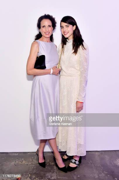 Andie MacDowell and Margaret Qualley attend COS and Margaret Qualley celebrate LA Dance Project's LA Dances at LA Dance Project on September 21 2019...