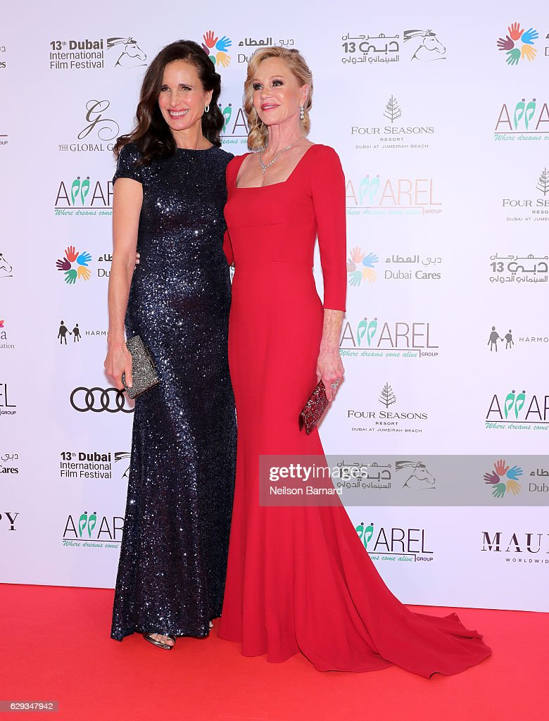 803e8c9fea1 Andie MacDowell and Melanie Griffith attend the Global Gift Gala ...